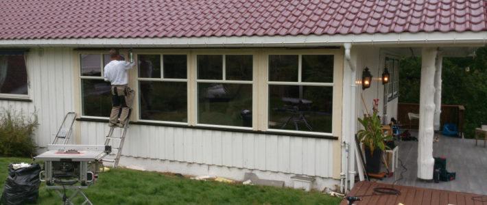 Bytte vinduer og/eller dører? Selvfølgelig kan vi ta jobben! :-)